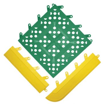 #540 FIT Open Grid Surface Green