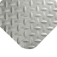 Diamond-Plate Spongecote Plate Gray