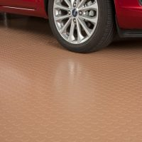 G-Floor Large Coin Covers Unsightly Garage Floors